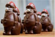 Cum va arăta Moș Crăciun de ciocolată în acest an