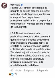 USR îi apără pe studenţii EXMATRICULAȚI de la Drept de judecătorul Cristi Danileţ