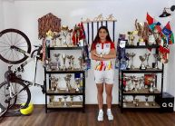 Ea e medicul chirurg de șase ori campioană națională la triatlon!