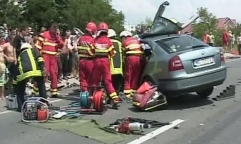 ACCIDENT în Satu Mare. Un mort şi trei răniţi