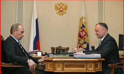 Întâlnire Vladimir Putin-Igor Dodon la Moscova, pe 17 ianuarie