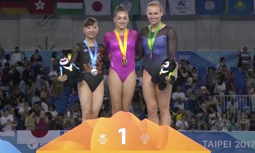 Medalie de AUR pentru Larisa Iordache la concursul de la Taipei