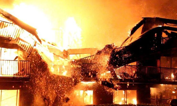 Incendiu DEVASTATOR la două imobile tip bazar din Timişoara. O persoană a fost găsită carbonizată