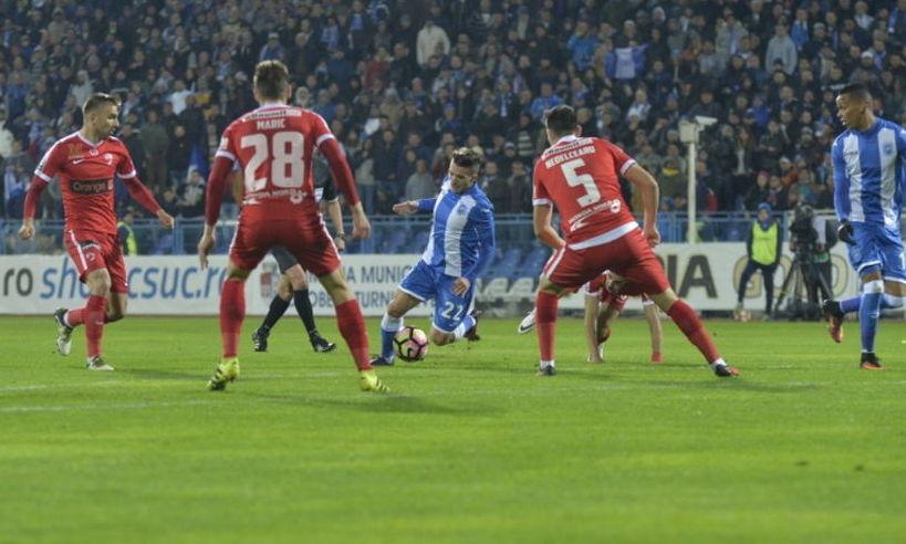 Când se joacă CRAIOVA – DINAMO în sferturile Cupei României. Programul complet
