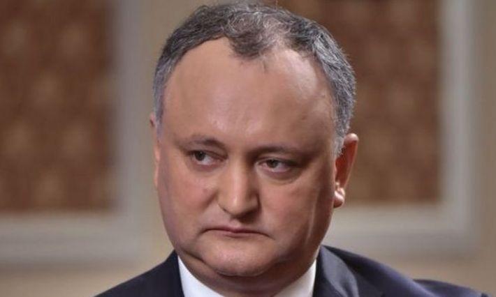 DODON, suspendat temporar din funcție, pentru a patra oară, de către Curtea Constituțională de la CHIȘINĂU