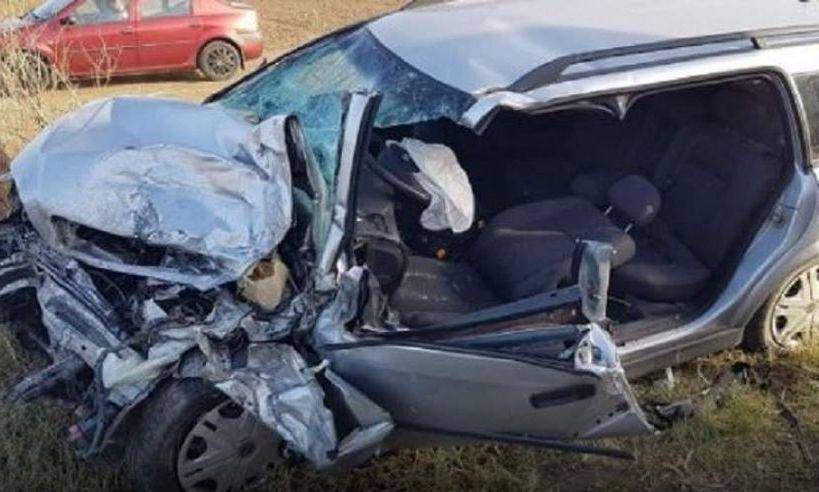 ACCIDENT cumplit în Olt. Un bărbat a murit după o coliziune pe DN64