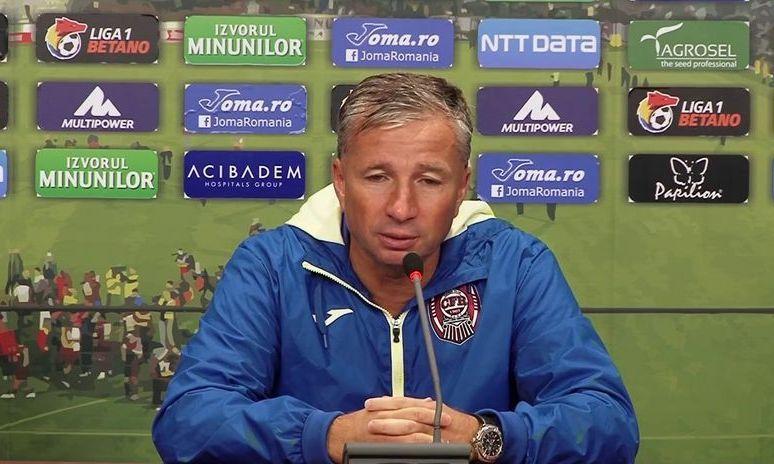 Un oficial al lui CFR Cluj recunoaște că ECHIPA are nevoie de DAN PETRESCU pentru câștigarea campionatului