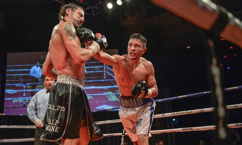 Victorie rapidă prin KO pentru Ronald Gavril