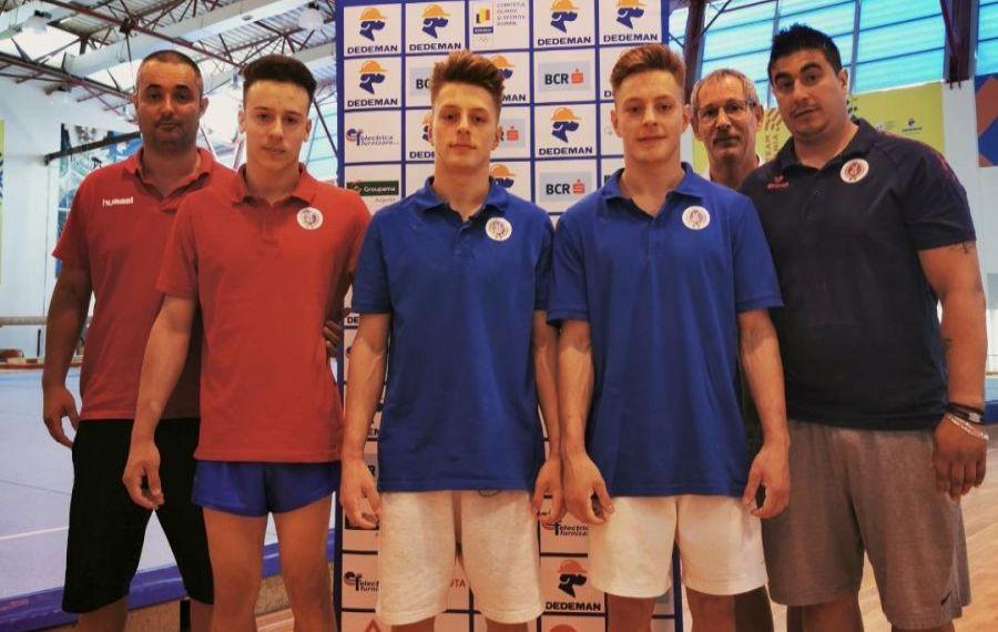 GEMENII care vor să readucă gloria pentru GIMNASTICA masculină românească