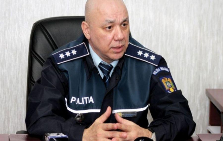 Șeful IPJ Constanța, aflat pe motocicletă, implicat într-un accident auto la Mangalia