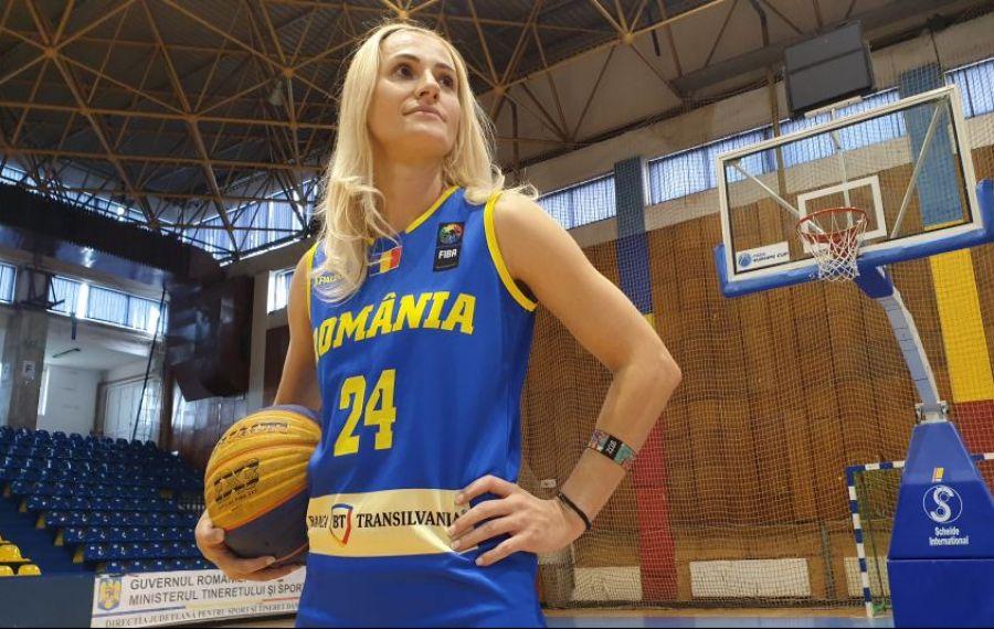 Cea mai titrată baschetbalistă a României are șanse mari să meargă la Olimpiada de la Tokyo