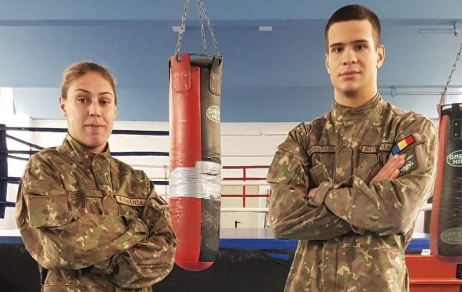 Soldații din ring!