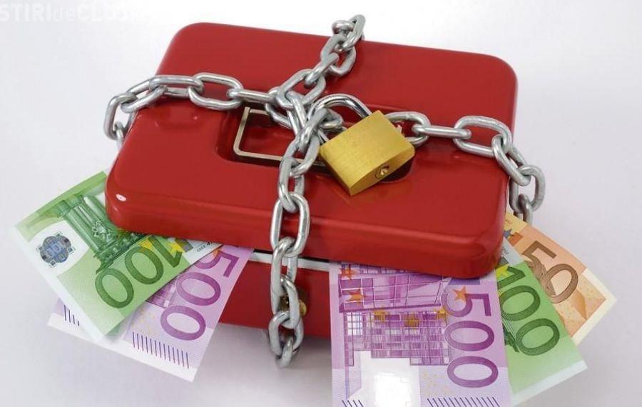 ANAF a blocat aproape un milion de conturi pentru datorii neplătite