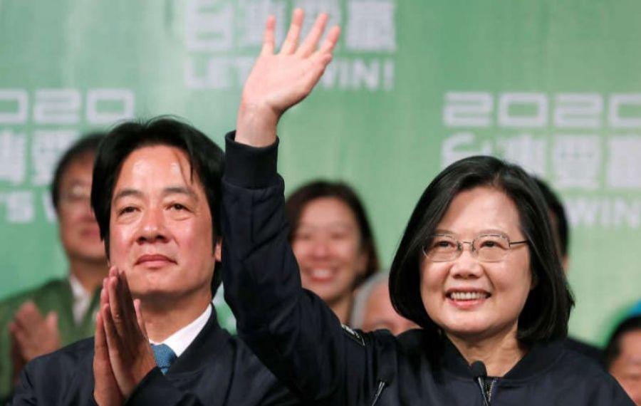 Președinta Taiwan, REALEASĂ pentru un nou mandat