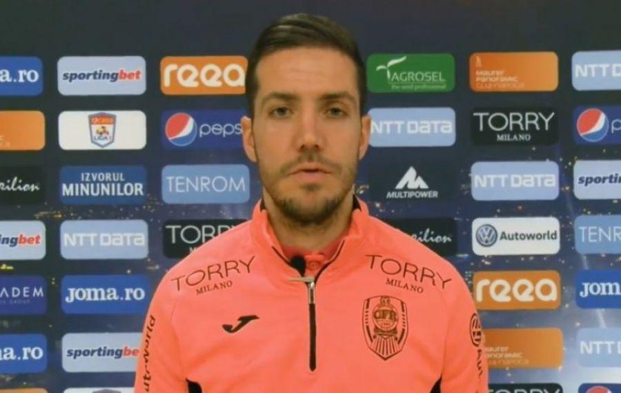 """Chipciu a uitat de trecutul roş-albastru: """"CFR Cluj e echipa perfectă pentru mine"""""""