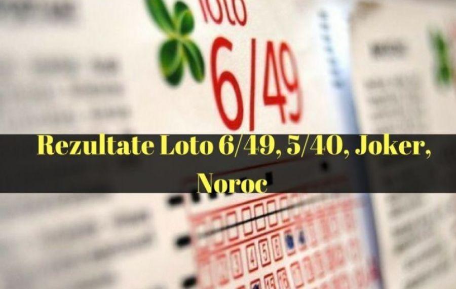LOTO 23 IANUARIE: NUMERELE CÂȘTIGĂTOARE LA LOTO 6/49, JOKER, NOROC, 5/40, SUPERNOROC ȘI NOROC PLUS