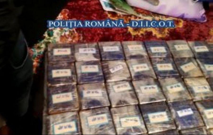 Aproape 10 kilograme de cannabis, ascunse în rezervorul unei mașini, descoperite de procurorii DIICOT Iași