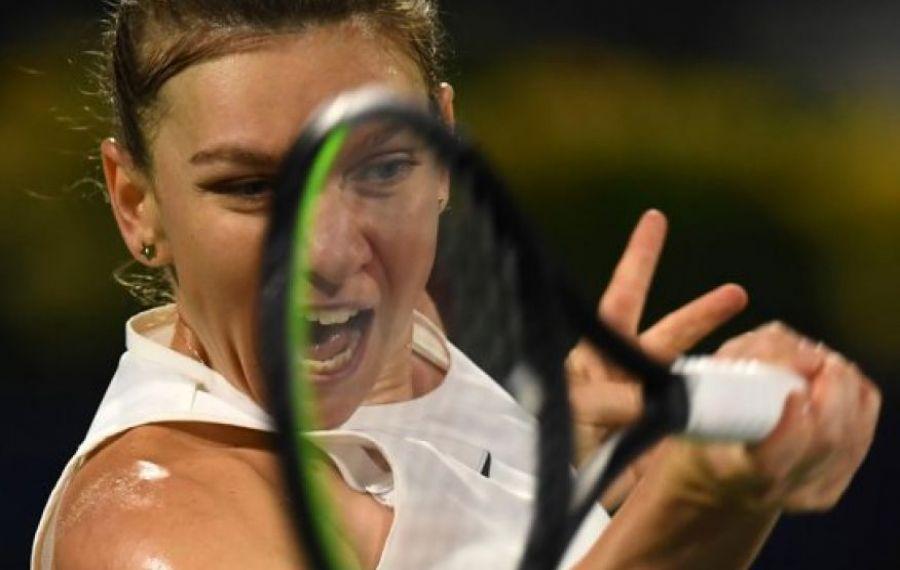 """VICTORIE! Simona Halep s-a calificat în finala de la Dubai! """"Sunt relaxată, concentrată și îmi doresc să câștig"""""""