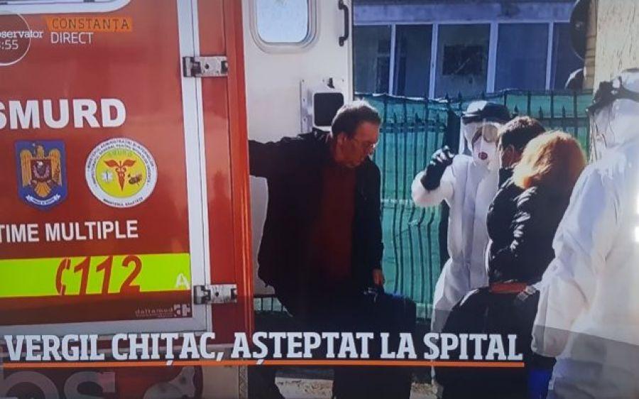 Senatorul Vergil Chițac a fost adus fără izoletă la Spitalul de Boli Infecțioase din Constanța, deși a fost confirmat pozitiv cu coronavirus. A contaminat un spital