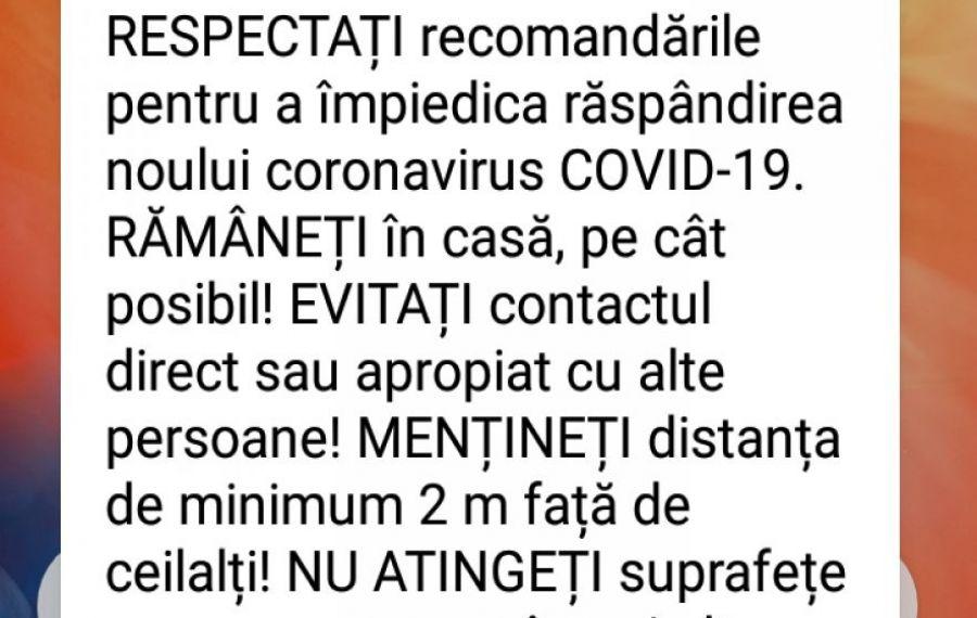 Mesaj RO-ALERT de ultimă oră. Ce transmit autoritățile românilor
