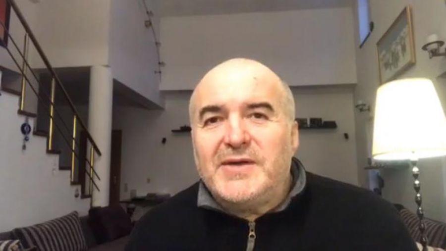 """""""Este un EXPERIMENT mondial, ca să fim ținuți în botniţă şi în mănuşi"""". Florin Călinescu, mesaj dur (VIDEO)"""