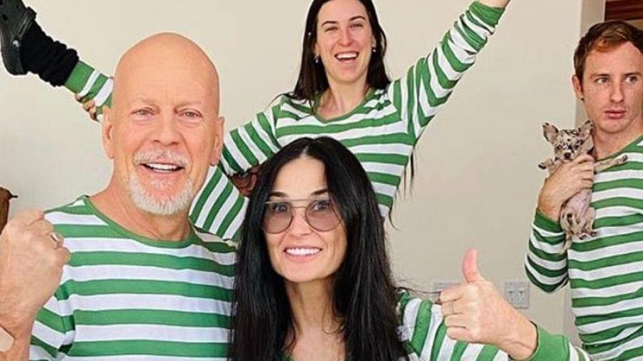 Interesant: Bruce Willis a preferat să se izoleze cu fosta soție. NIMENI nu știe de ce
