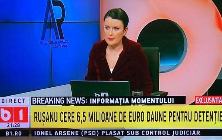 Explicațiile B1 TV, după concedierea Sorinei Matei / ACUZAȚIILE jurnalistei
