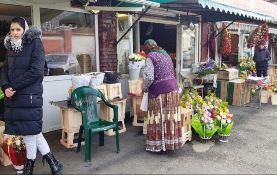 A început DEMOLAREA Pieţei de Flori din cartierul Rahova