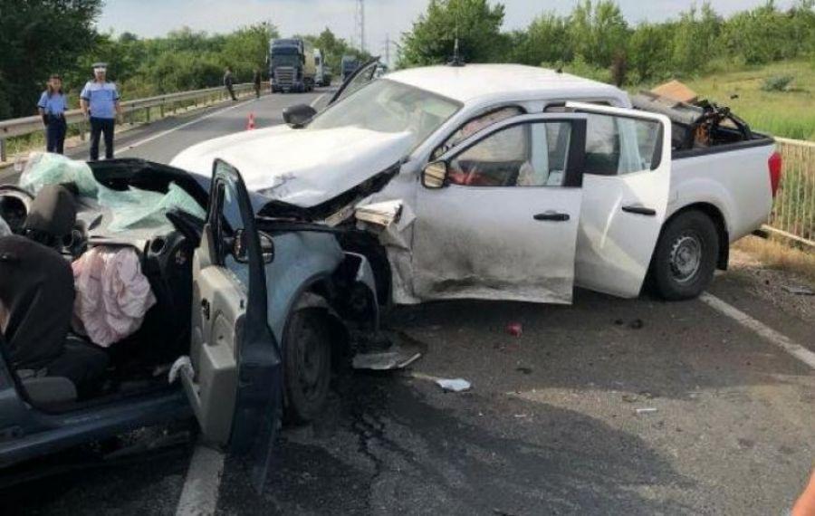 Accident violent în Teleorman!! Două persoane au murit, iar o a treia este în stare gravă