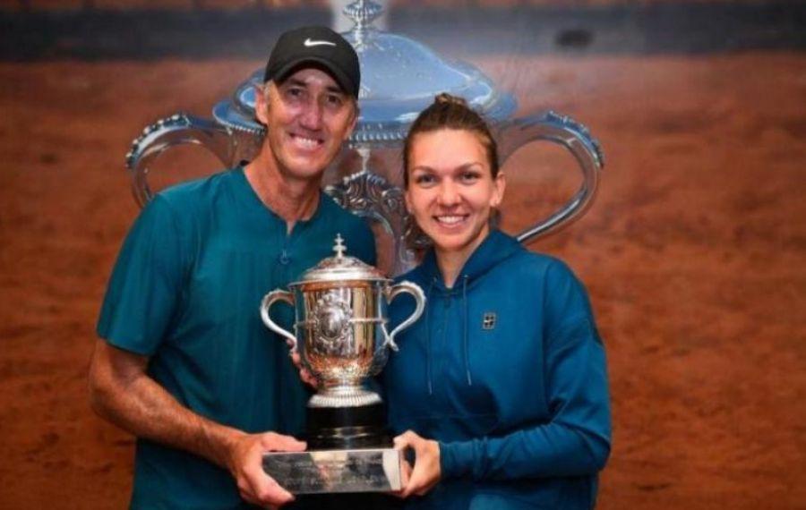 Simona Halep, MESAJ pentru Darren Cahill la doi ani de la titlul de la Roland Garros