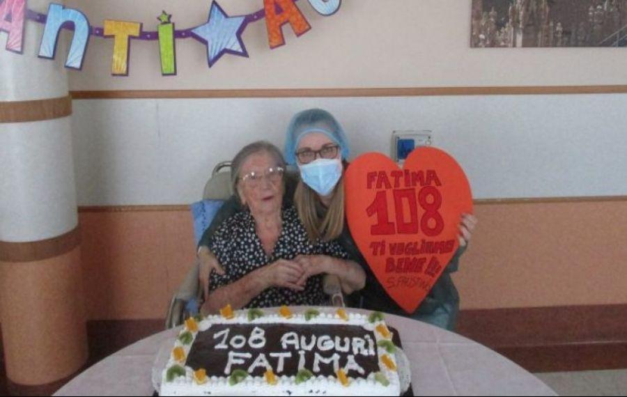 COVID-19. Asimptomatică la 108 ani