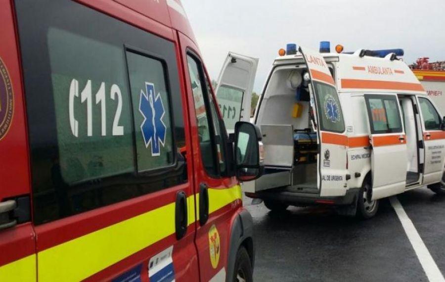 Trafic BLOCAT pe DN 2A după un cumplit accident