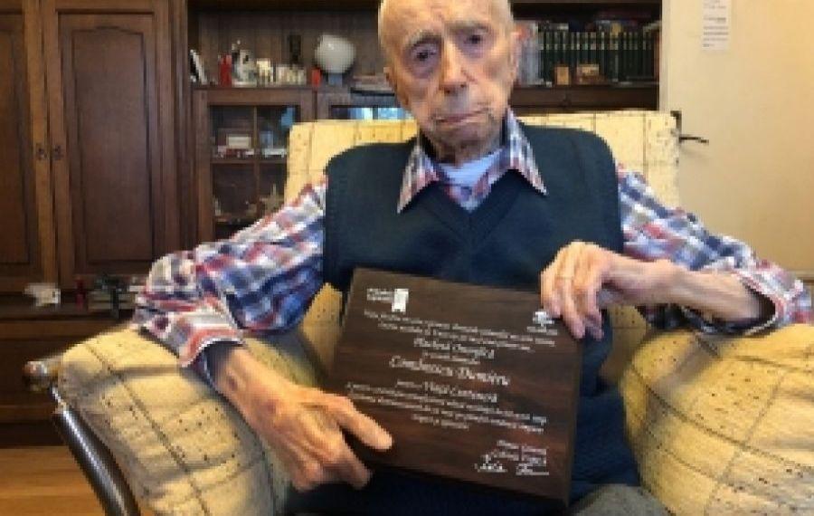 A MURIT Dumitru Comănescu, bucureșteanul care deținea titlul de cel mai bătrân bărbat din lume