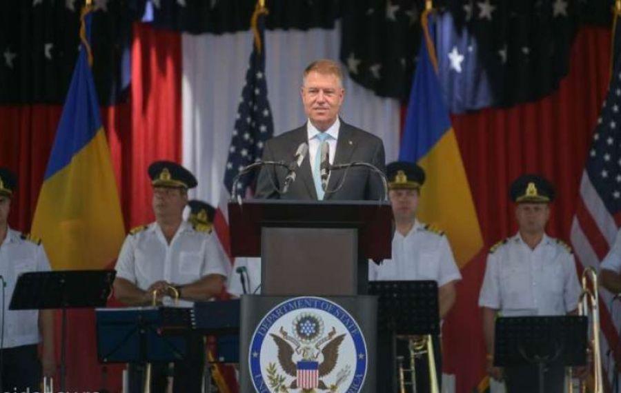 """Președintele Iohannis, mesaj pentru SUA: """"Vom fi un aliat strategic și un prieten ferm"""""""