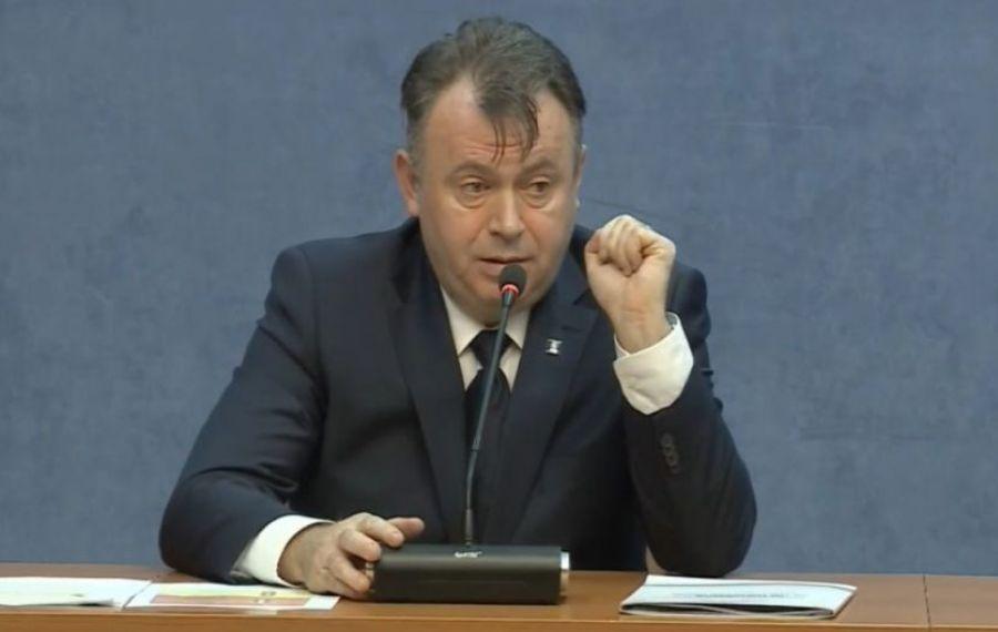 """Ministrul Sănătății: """"Instituim stare de URGENȚĂ în condițiile unei transmiteri comunitare accentuate"""""""