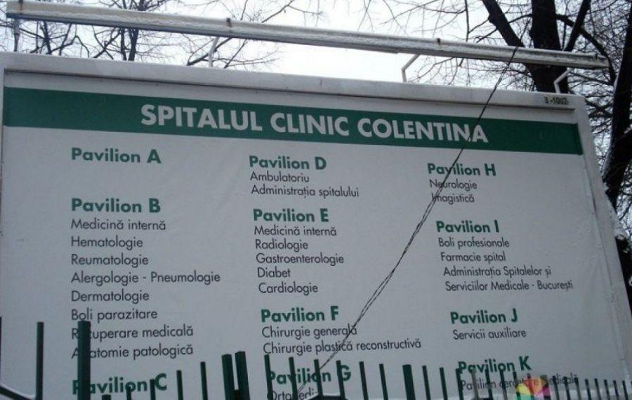 DSP București: Spitalul Colentina poate asigura asistență medicală și pentru pacienții non-COVID