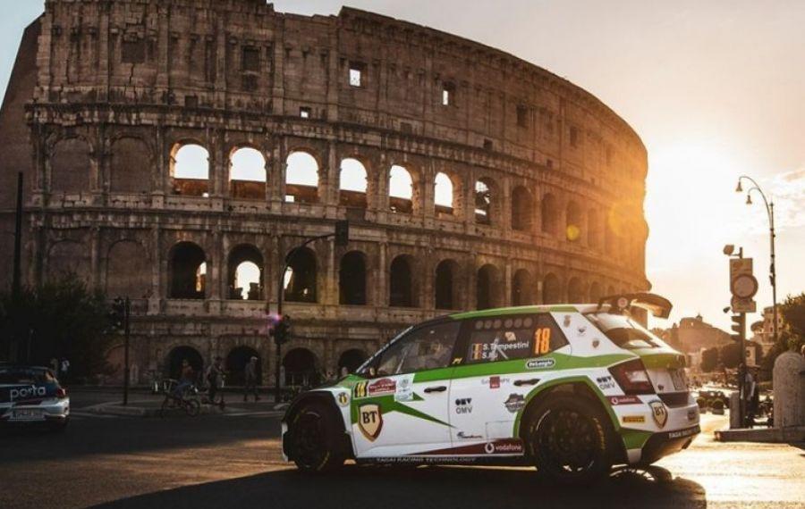 Echipajul Simone Tempestini-Sergiu Sebastian Itu, locul 5 în Rally di Roma Capitale 2020