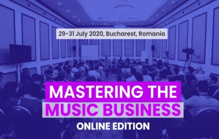 Marile evenimente s-au mutat online: Mastering the Music Business, peste 15.000 de spectatori ȋn 3 zile