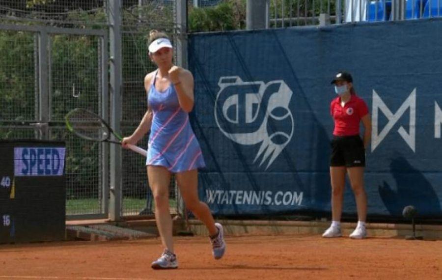 Debut cu SUCCES pentru Simona Halep la turneul WTA de la Praga