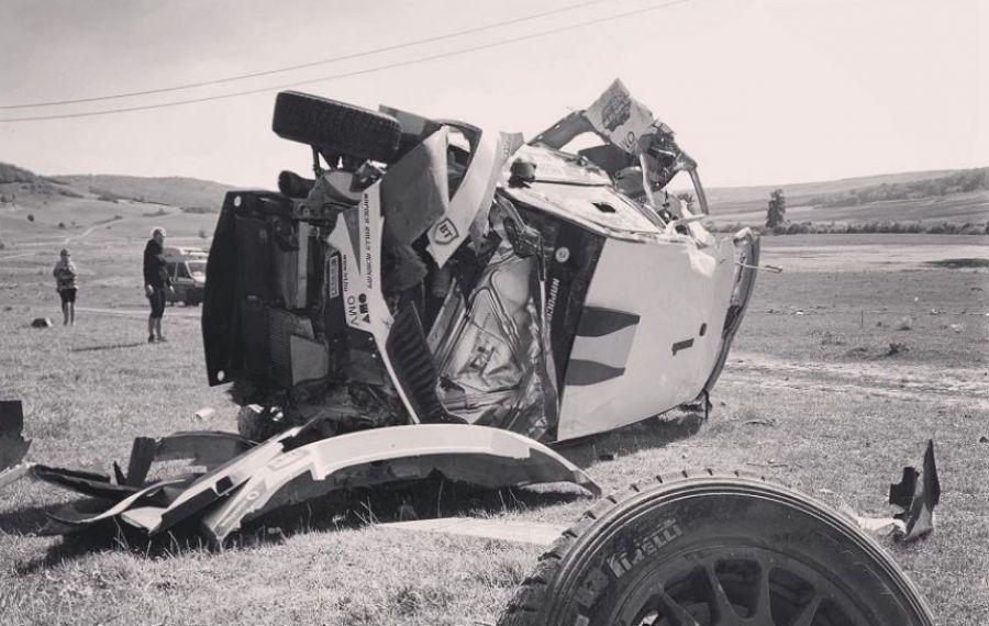 Echipajul Tempestini – Itu a fost aproape de TRAGEDIE la Raliul Iașiului