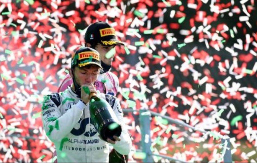 Podium inedit la Monza după o cursă nebună