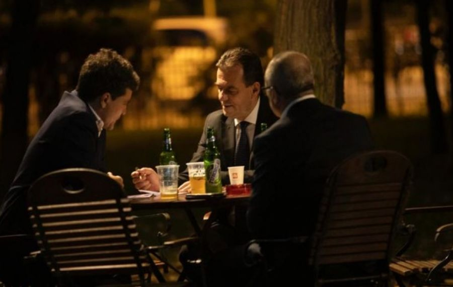 ÎNTÂLNIRE în miez de noapte între Ludovic Orban și Nicușor Dan