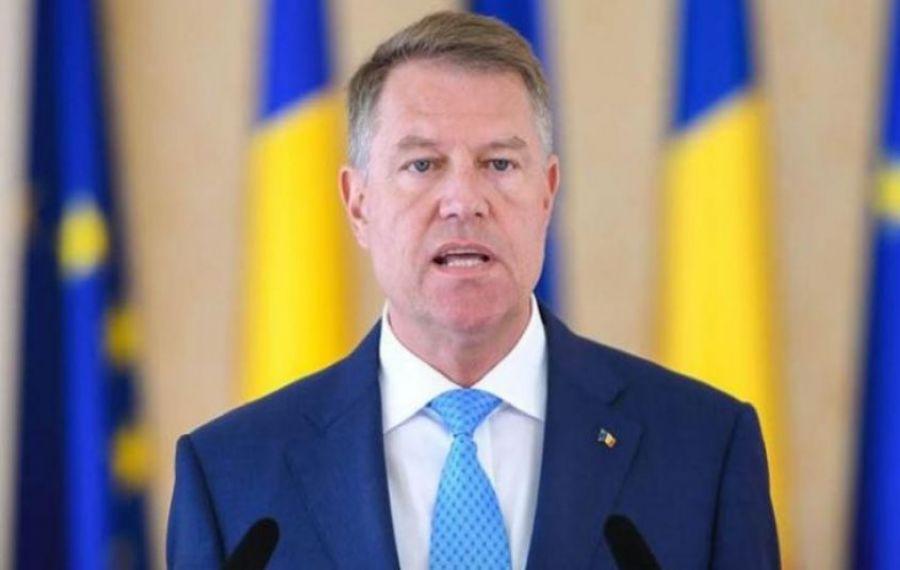 Klaus Iohannis, conferinţă de presă la Palatul Cotroceni