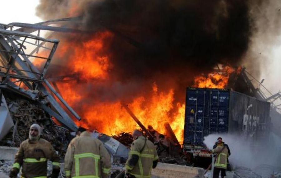 Panică din nou la BEIRUT, la o lună după EXPLOZIA ucigașă