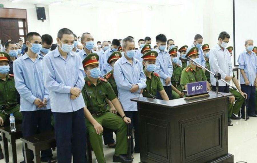 Epilog în procesul de revoltă din Dong Tam: doi condamnați la moarte unul pe viață