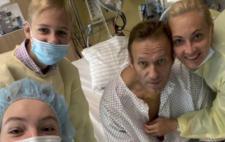 Alexei Navalnîi, PRIMUL MESAJ după ce a fost otravit
