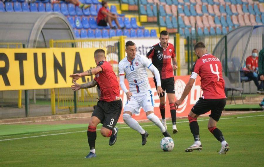 FC Botoșani, ELIMINATĂ din Europa League de KF Shkendija. Desfășurarea partidei