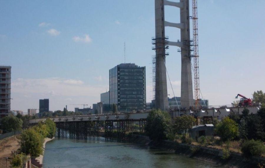 Podul Ciurel a fost deschis CIRCULAȚIEI