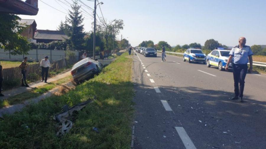 Secretar de stat RĂNIT într-un accident rutier