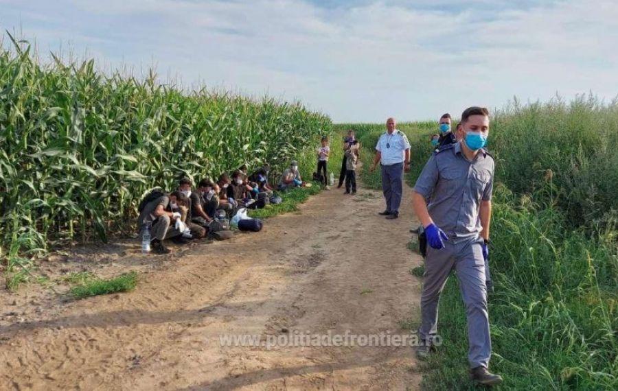Euronews: Polițiștii de frontieră români ar fi agresat șapte migranți